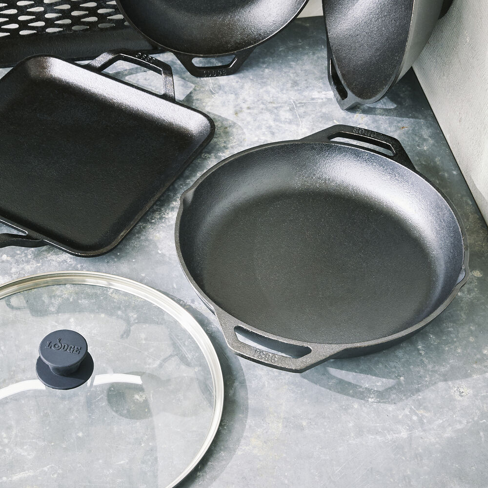"""Lodge Chef Collection Everyday Pan, 12"""""""