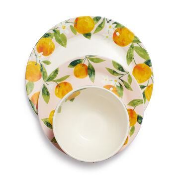 Citrus 12-Piece Dinnerware Set