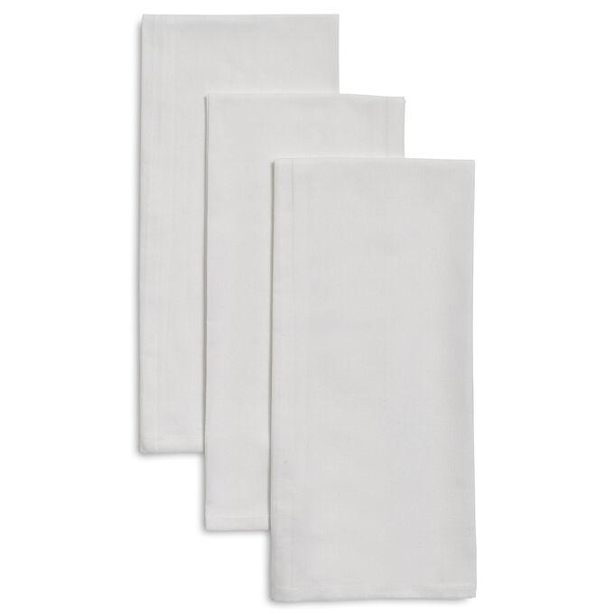 "Flour Sack Towels, 34"" x 32"", Set of 3"