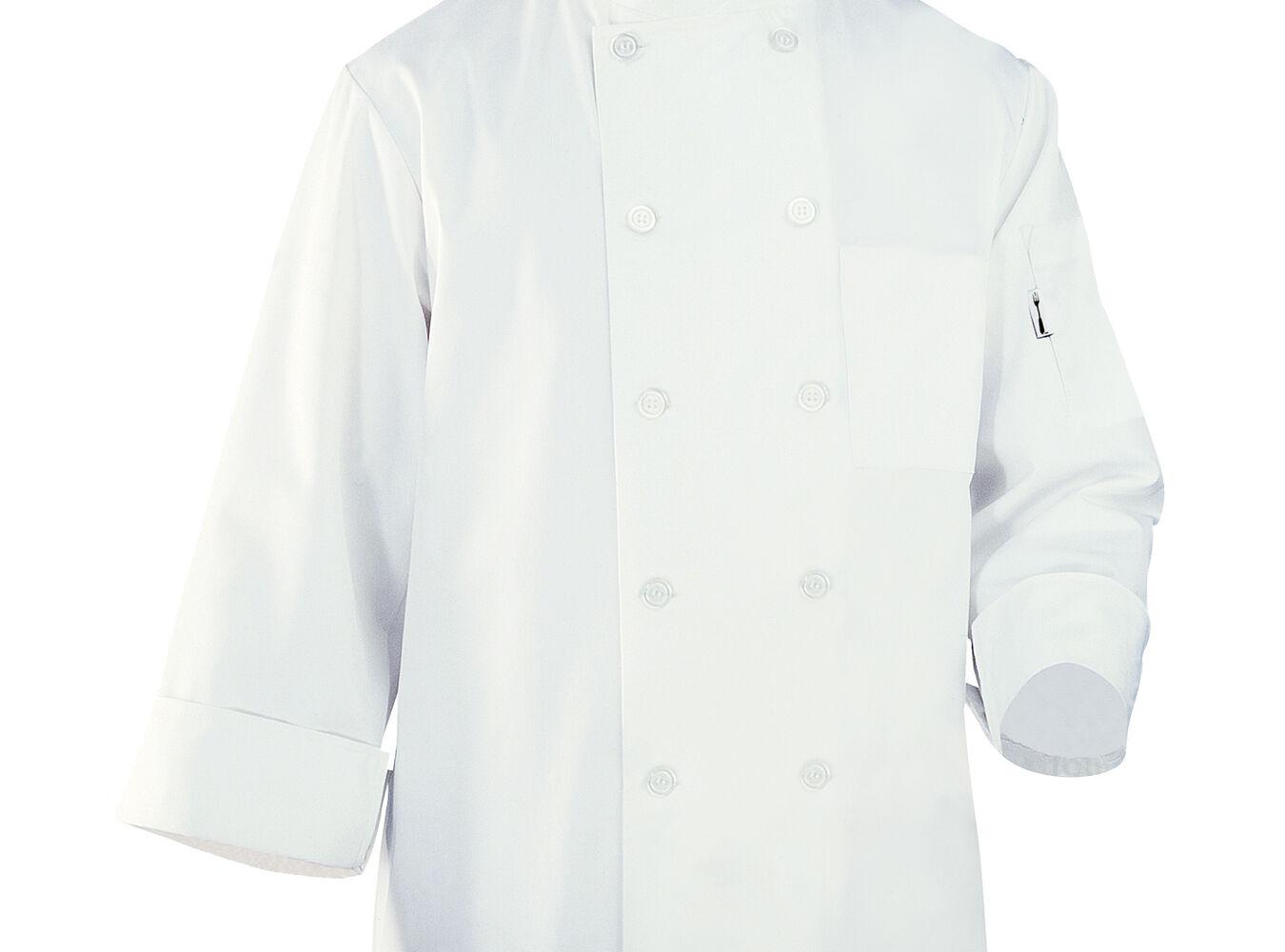 Chef Works White Basic Chef Coats   Sur La Table