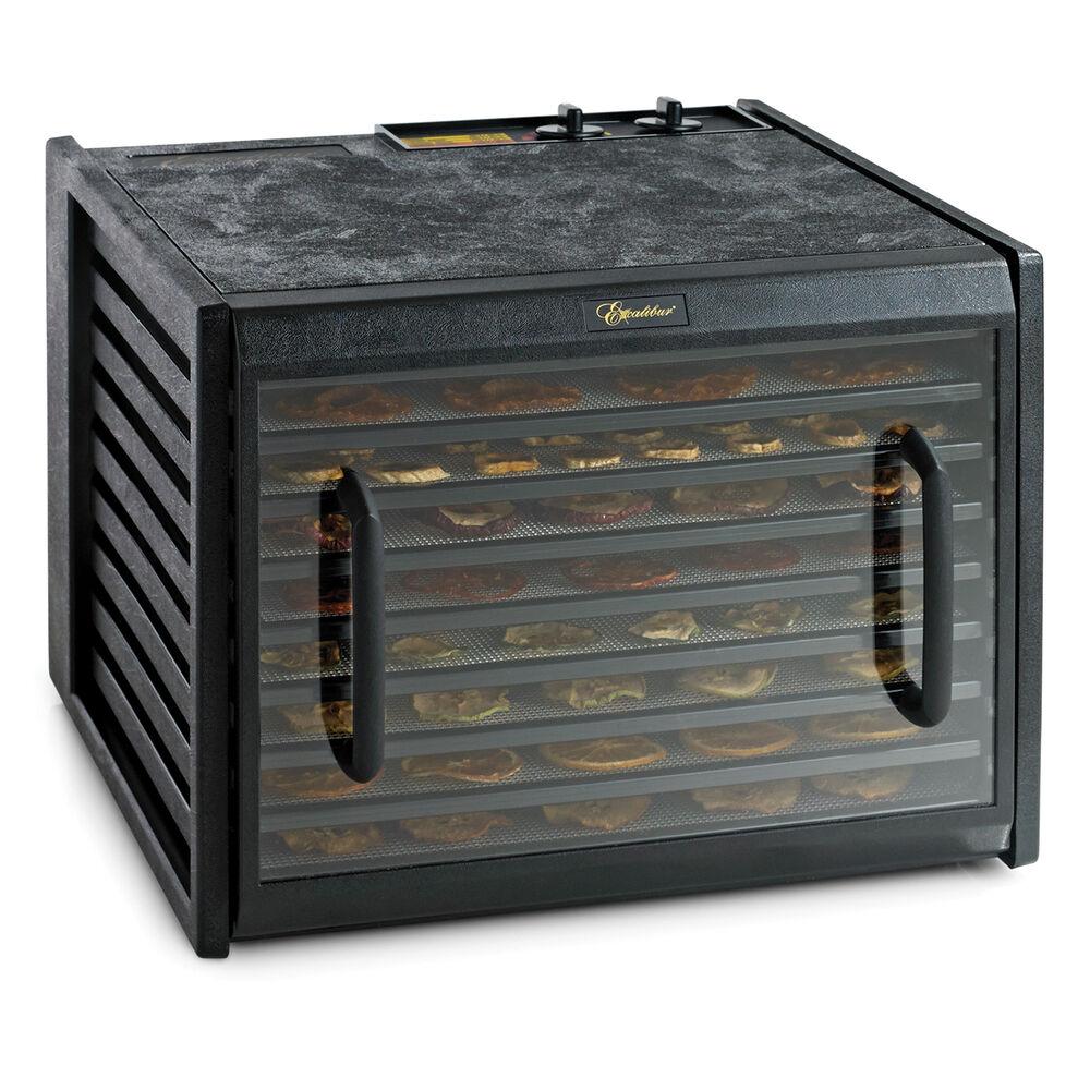 Excalibur Black 9-Tray Dehydrator