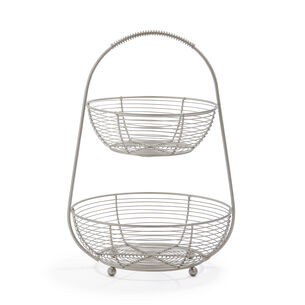 Two-Tier Stand, Aluminum