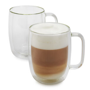Zwilling J.A. Henckels Sorrento Plus Double-Wall Latte Glasses, 15 oz., Set of 2