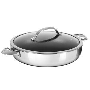 Scanpan HaptIQ Chef's Pan with Lid, 5.5 qt.