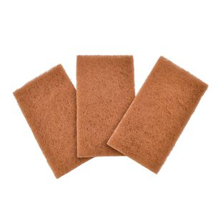 Full Circle Neat Nut Scour Pad, 3 Pack