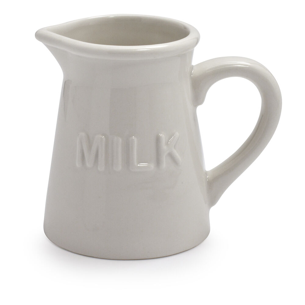 Embossed Milk Carafe