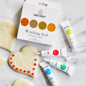 Cake Craft 4-Pack Writing Gel Kit, Primary Colors