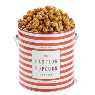 The Hampton Popcorn Co. Salted Caramel Tin, 1 gallon