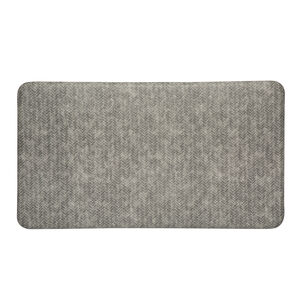 """Imprint Cumulus9 Comfort Mat, Dove Chevron, 20"""" x 36"""""""