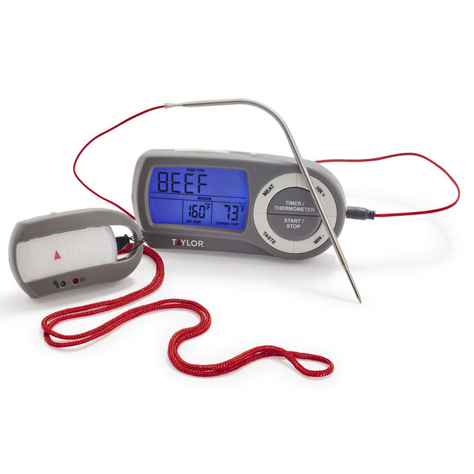 Taylor Wireless Thermometer with Remote Pager