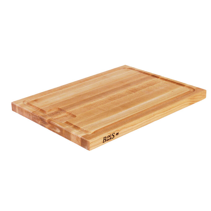 "John Boos Reversible Maple Au Jus Board, 20"" x 15"""