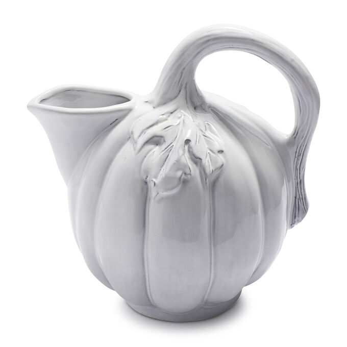White Pumpkin Pitcher