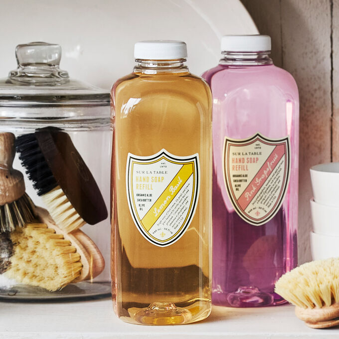 Sur La Table Lemon Basil Hand Soap Refill, 32 oz.