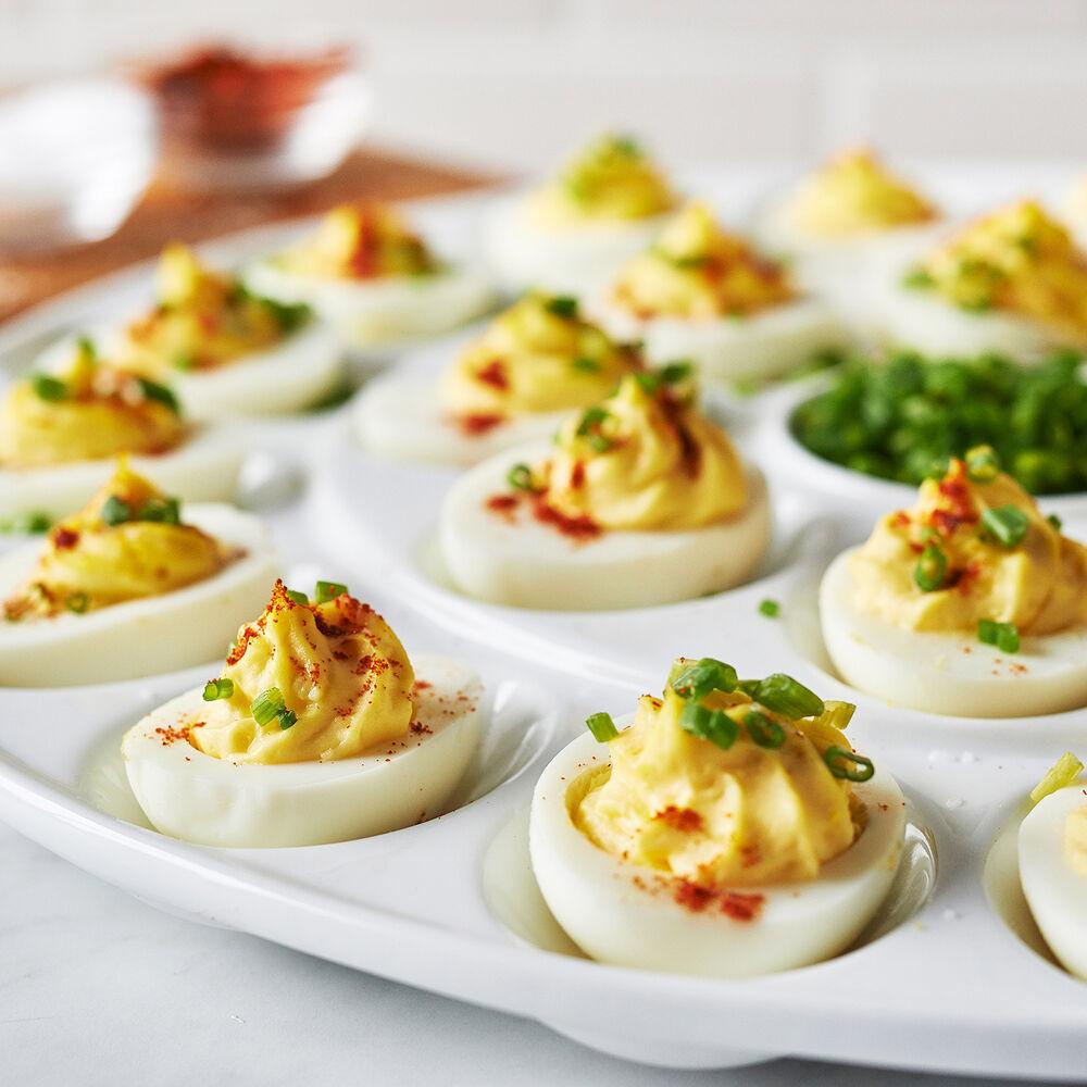 Porcelain Egg Platter