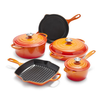 Le Creuset 8-Piece Cookware Set