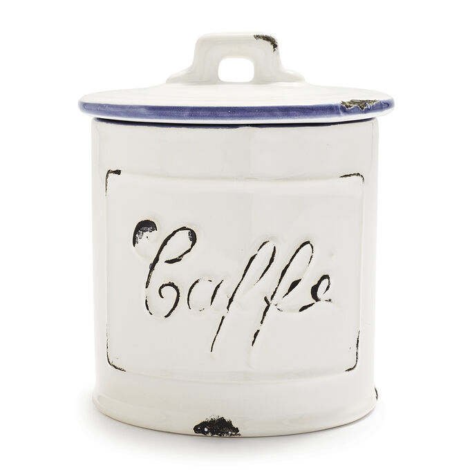 Rustic Coffee Canister