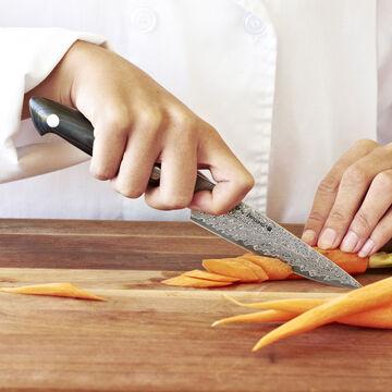 "Bob Kramer 5"" Stainless Damascus Utility Knife by Zwilling J.A. Henckels"