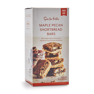Maple Pecan Shortbread Bar Mix