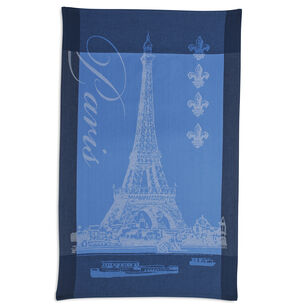 "Jacquard Eiffel Tower Kitchen Towel, 30"" x 20"""