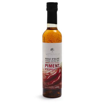A L'Olivier Espelette Pepper Extra Virgin Olive Oil, 8.5 oz.