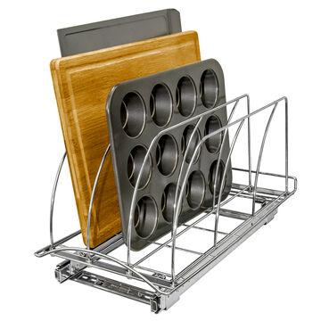 Lynk Professional Roll-Out Cutting Board & Bakeware Organizer