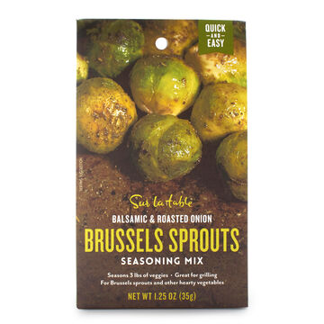 Sur La Table Balsamic and Roasted Onion Brussels Sprouts Seasoning Mix