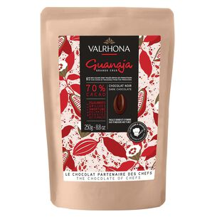 Valrhona Guanaja Dark Chocolate Feves, 70%