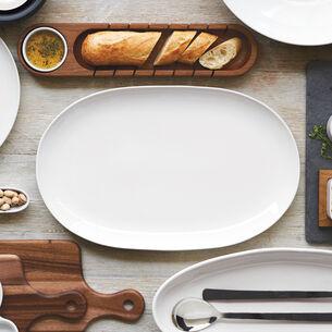 Italian Whiteware Oval Platter