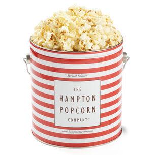 The Hampton Popcorn Co. Sea Salt Kettle Corn Tin, 1 gallon