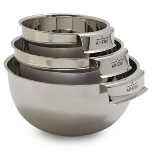 All-Clad Stainless Steel Mixing Bowls, Set of 3