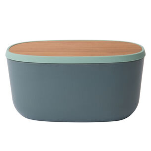 "Leo 12.5"" Bread Box with Cutting Board"