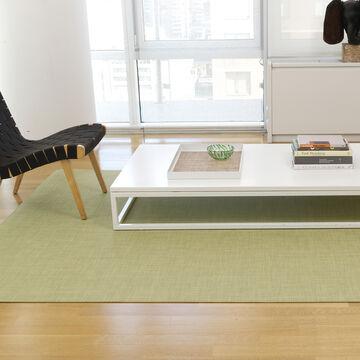 Chilewich Mini Basketweave Floor Mat, Dill