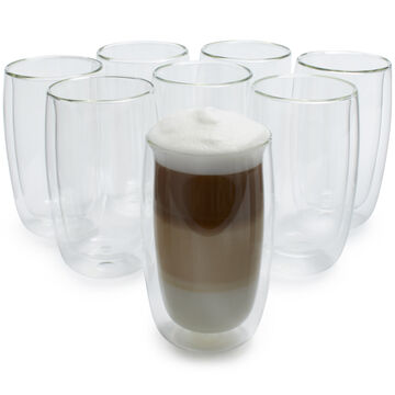 Zwilling J.A. Henckels Sorrento Double-Wall Latte Glasses, Set of 8