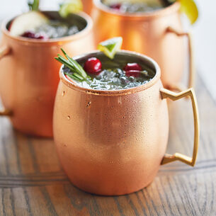 Moscow Mule Copper Mug, Set of 4