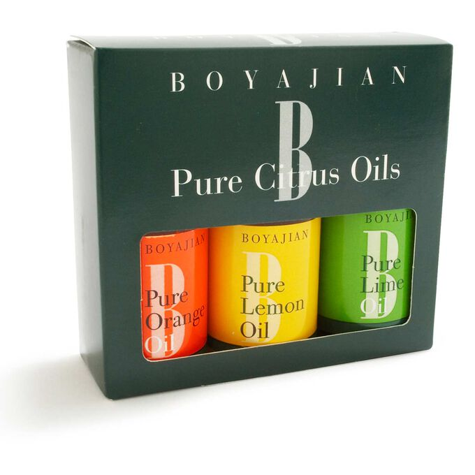 Boyajian Assorted Pure Citrus Oil, Set of 3