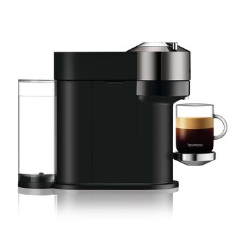 Nespresso Vertuo Next Deluxe Coffee and Espresso Maker by Breville, Dark Chrome