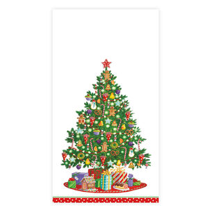 Under the Christmas Tree Guest Napkins, Set of 15