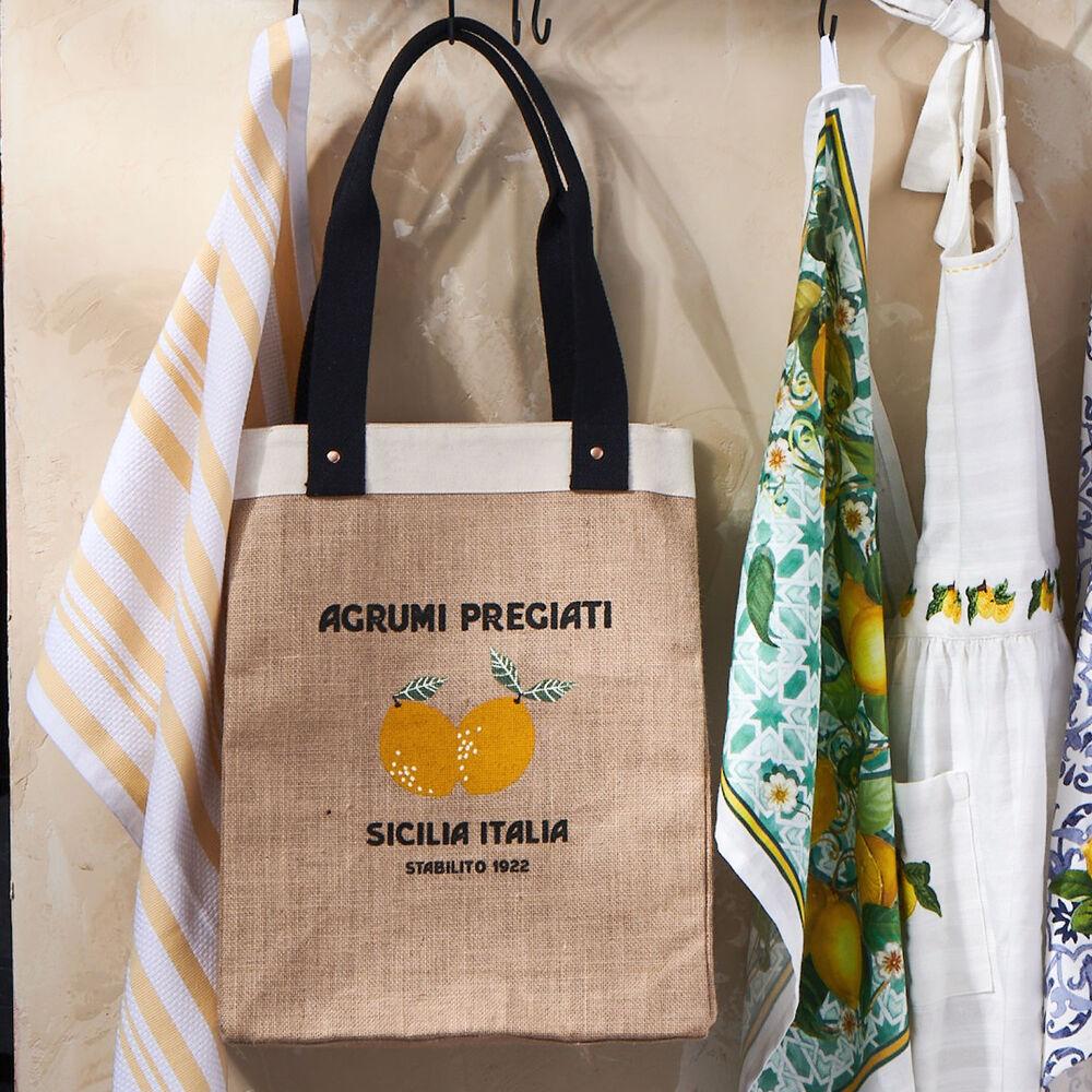 Sicilia Lemon Tote Bag