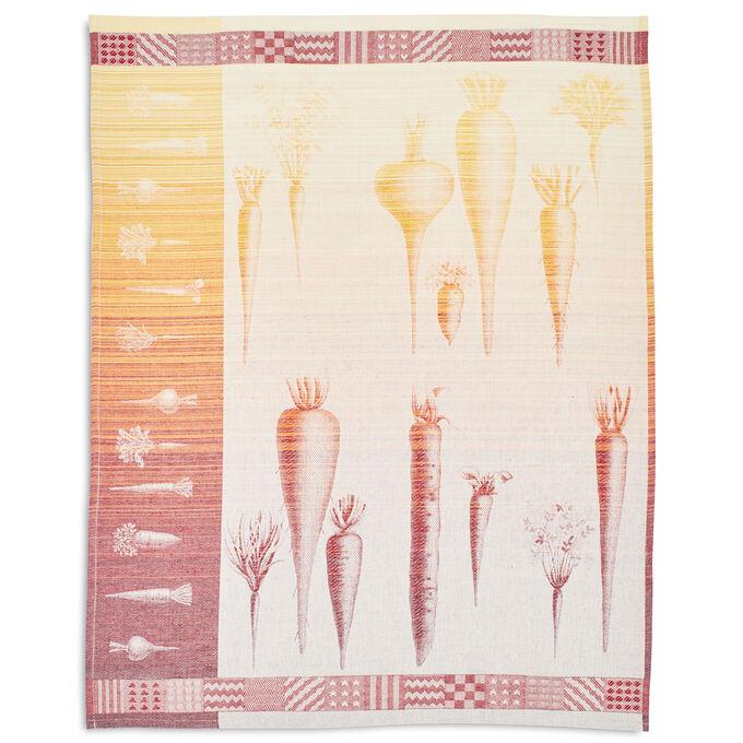 "Carrot Jacquard Kitchen Towel, 30"" x 22"""