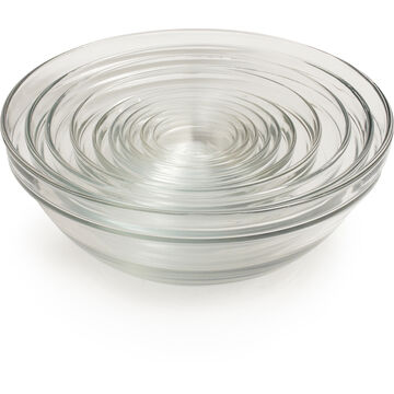 Duralex Lys Clear Stackable Bowls, Set of 10