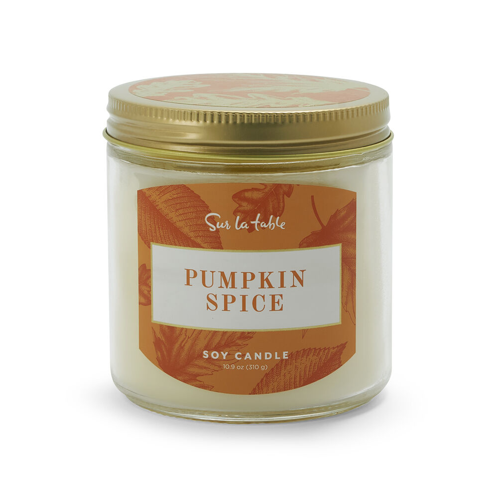 Holiday Soy Glass Candle, 10.9 oz.