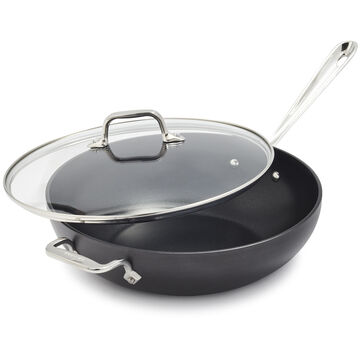 """All-Clad HA1 Nonstick Covered Chef's Pan, 12"""""""