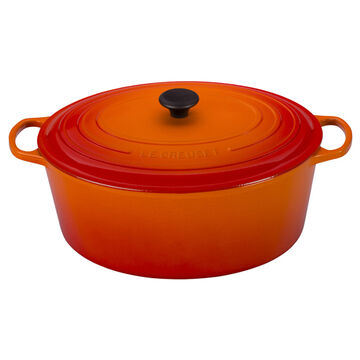 Le Creuset Signature Oval French Oven, 15.5 qt.