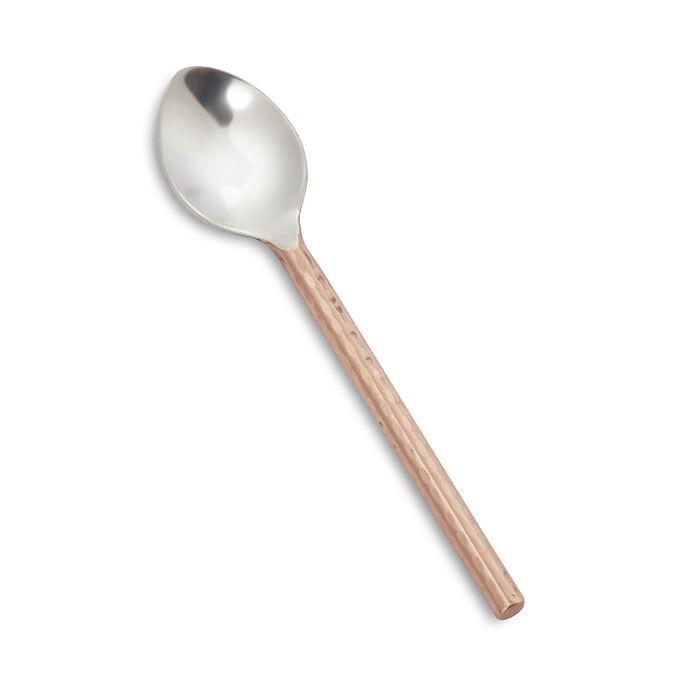 Hammered Copper Demitasse Spoon