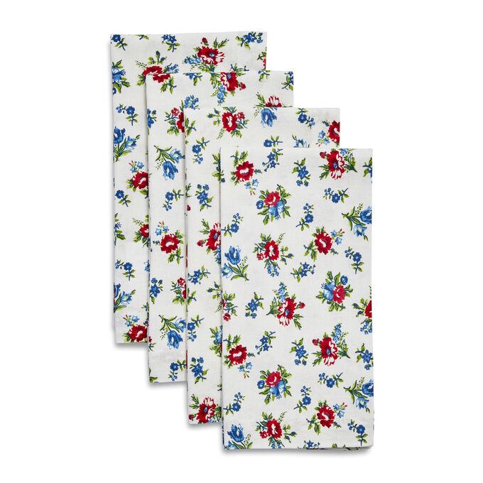 Summerhouse Floral Napkins, Set of 4