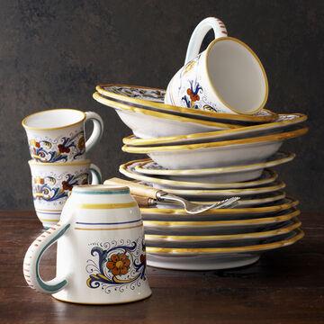 Nova Deruta Appetizer Plates, Set of 4