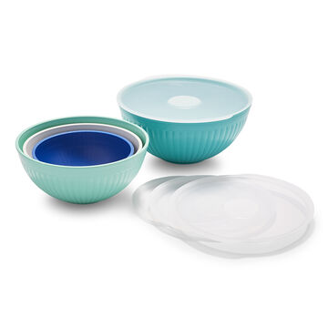 Nordic Ware 8-Piece Mixing Bowl Set with Lids