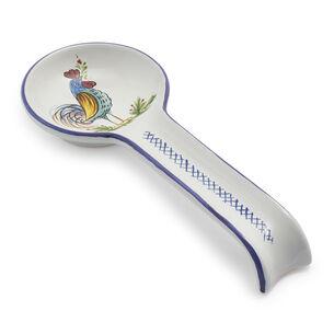 Rooster Deruta Spoon Rest