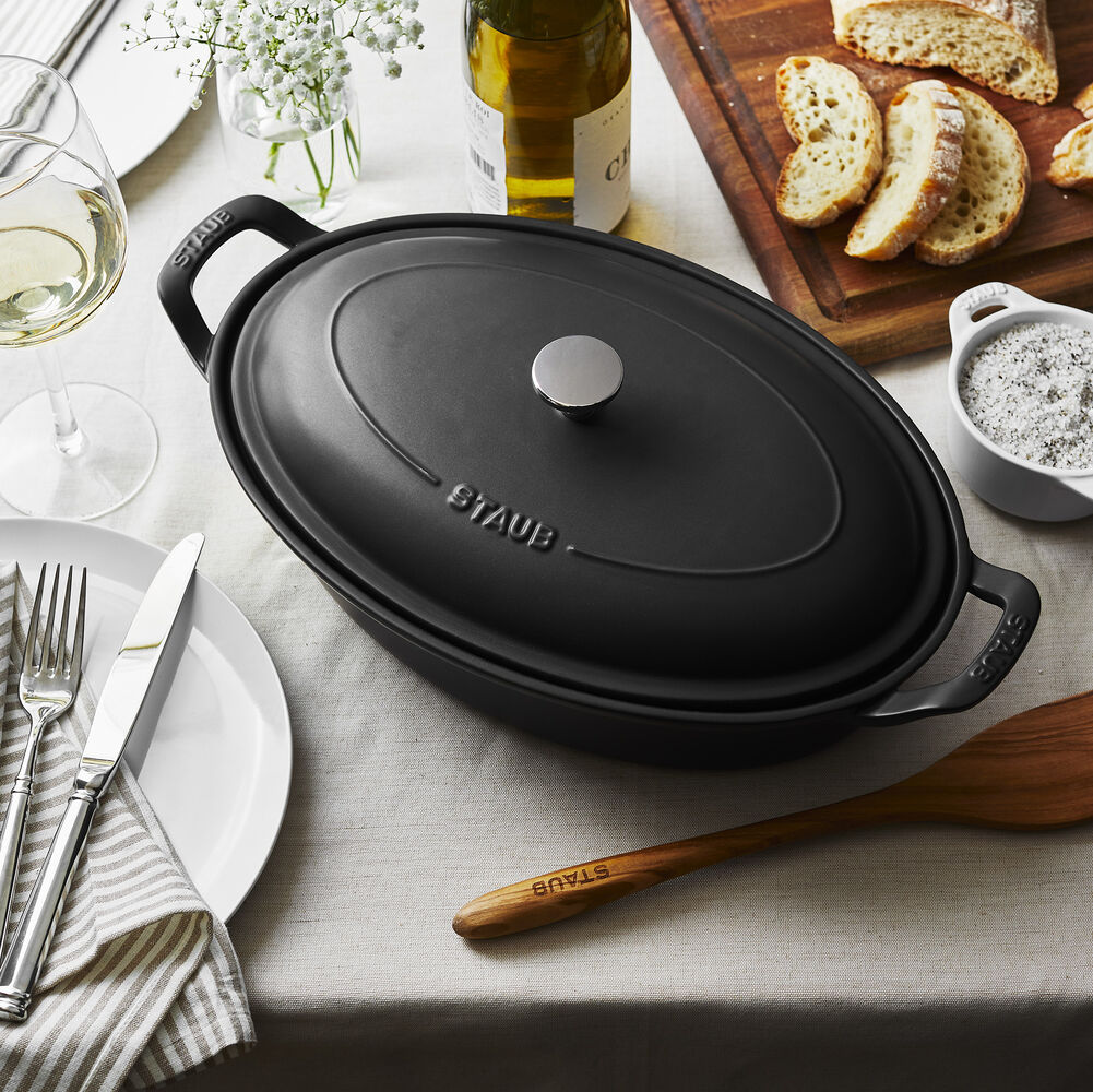 Staub Oval Bakers, 13.5""