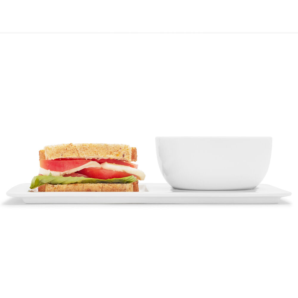 Soup and Sandwich Serving Set